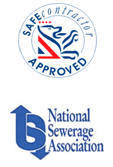 Safe Contractor Appoved, National Sewarage Association